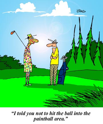 26 Funny Golf Pictures