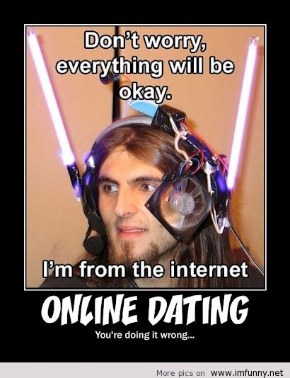 Funny things about online dating