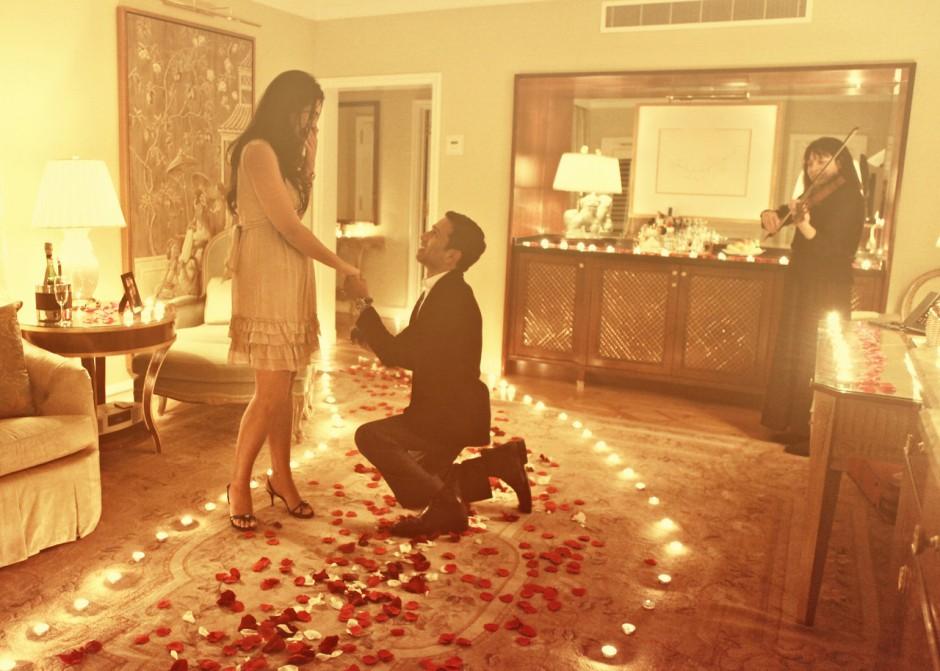 Как девушке сделать романтические
