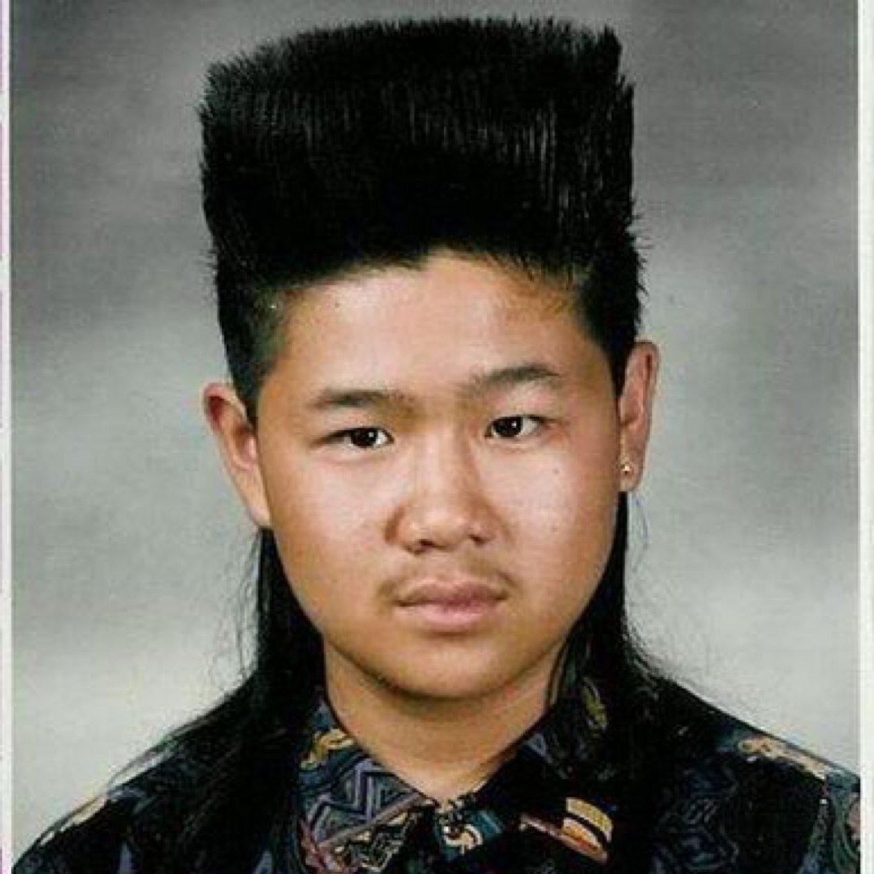 Причёски 90 годов фото мужчины