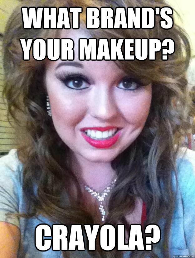 Funny makeup memes