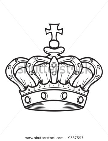 Kings crown drawing tumblr