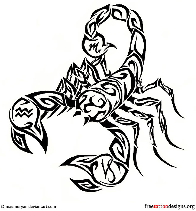 Scorpion Tattoos for Men  Ideas and Inspiration for Guys