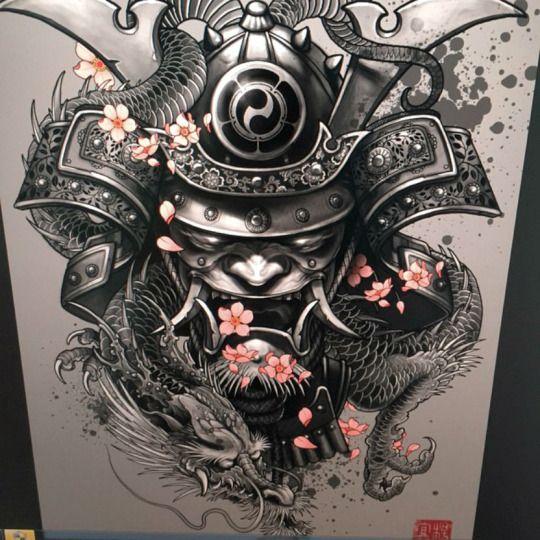 Эскизы тату в японском стиле