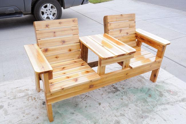 Как сделать скамейку из дерева своими руками и
