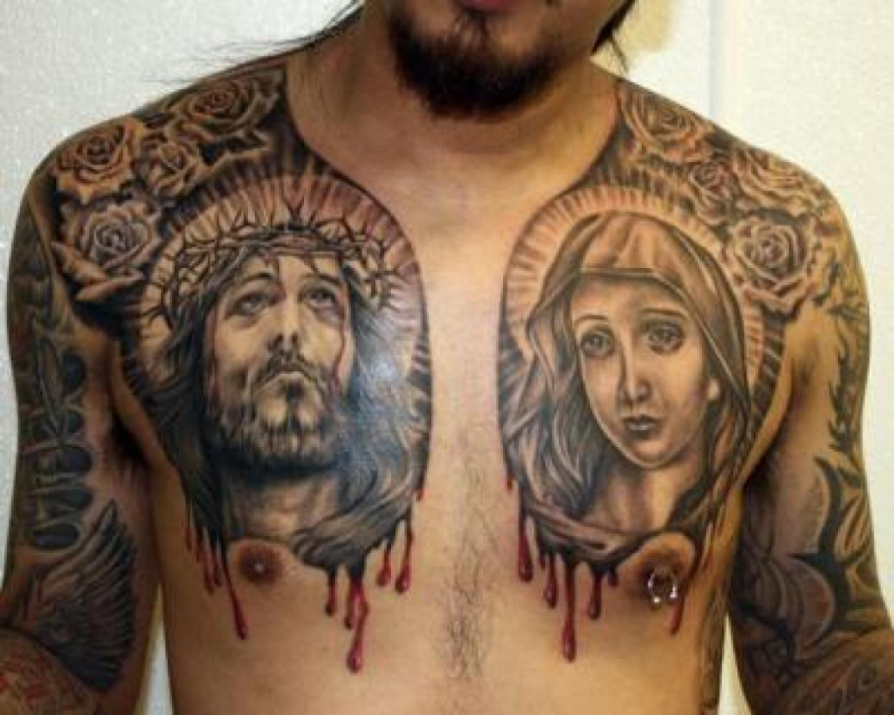 Значение икон в тату