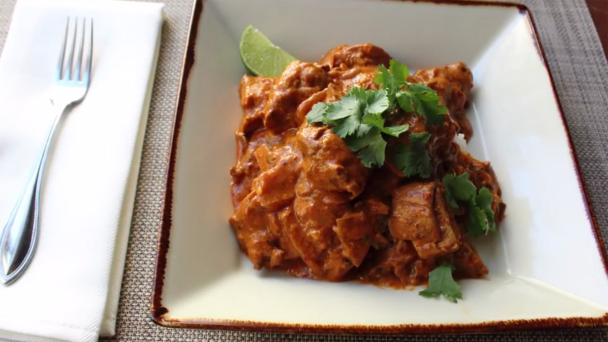 Creamy chicken tikka masala recipe