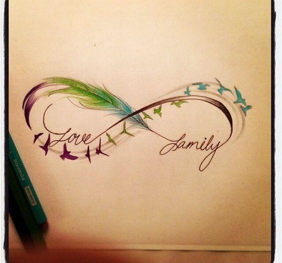 Татуировки на руке надписи для девушек о семье