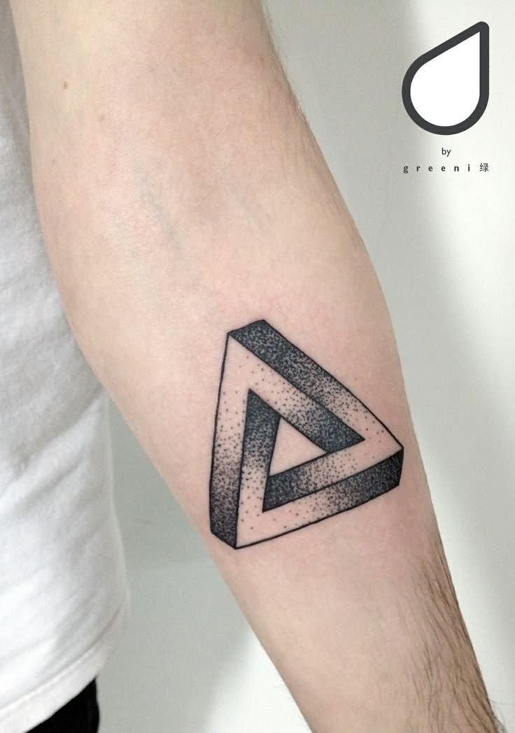 Фото эскизы тату треугольник