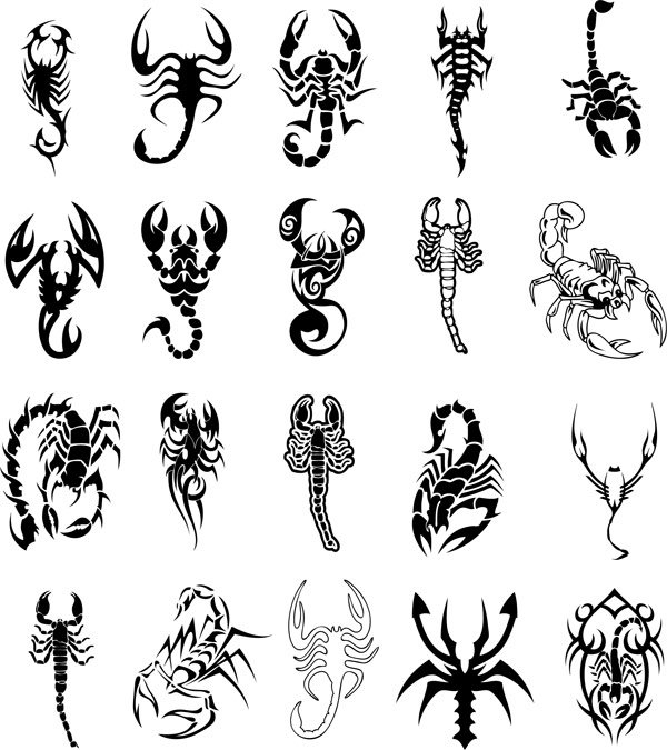 40 Awesome Scorpion Tattoos in Tribal Style 2019