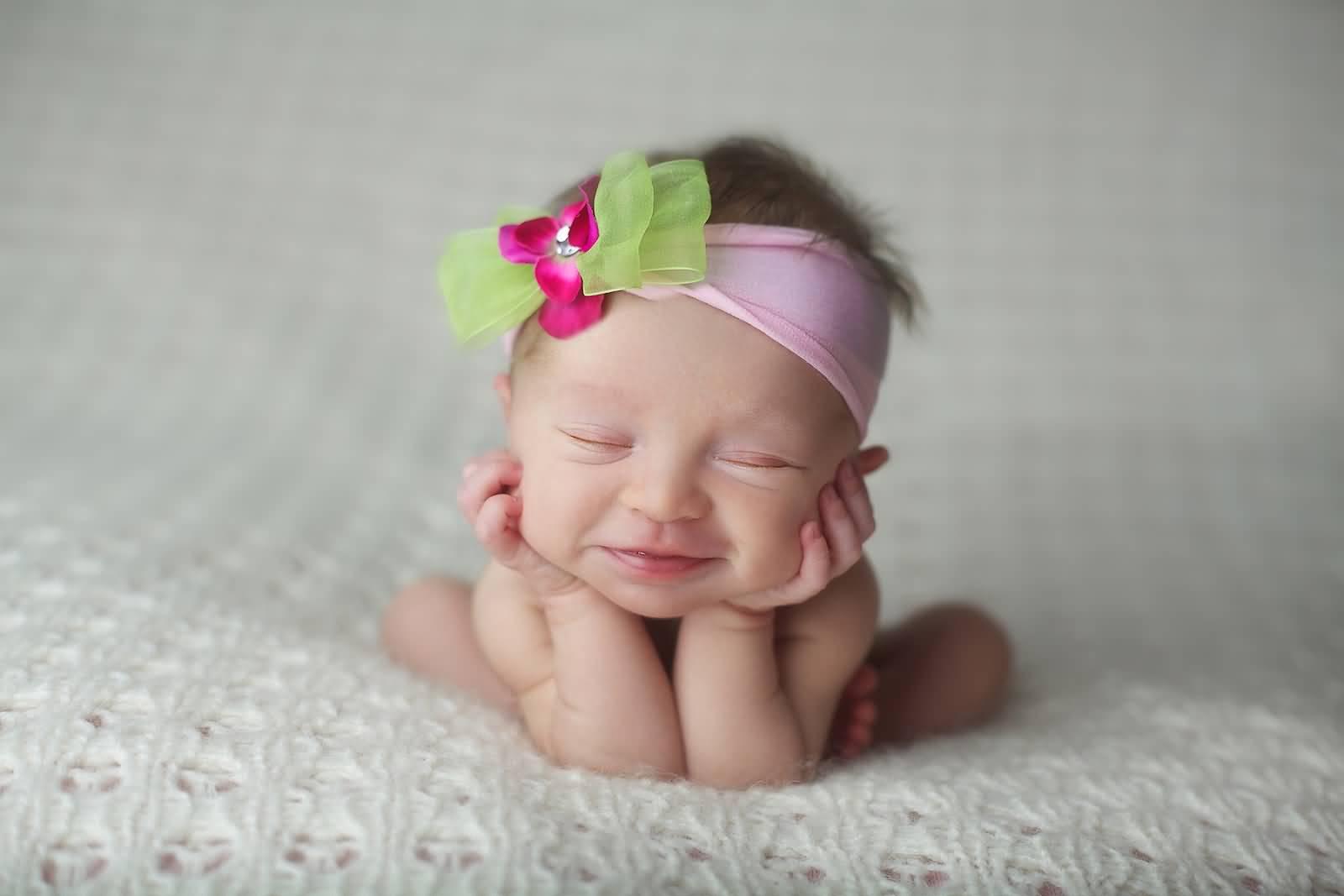 Прически новорожденным девочками