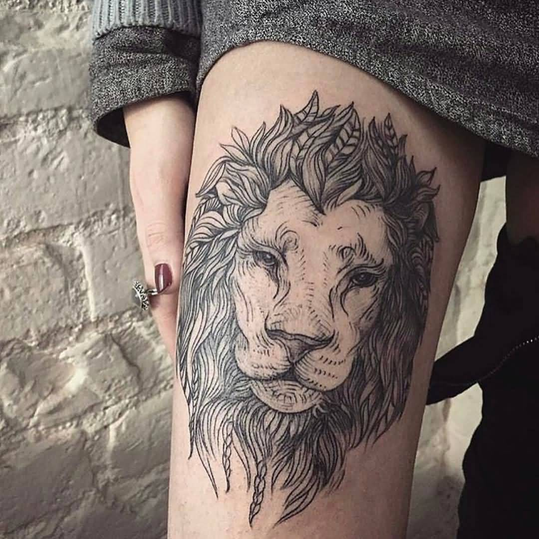 101 Thigh Tattoo Ideas and Designs for Women  Zariascom