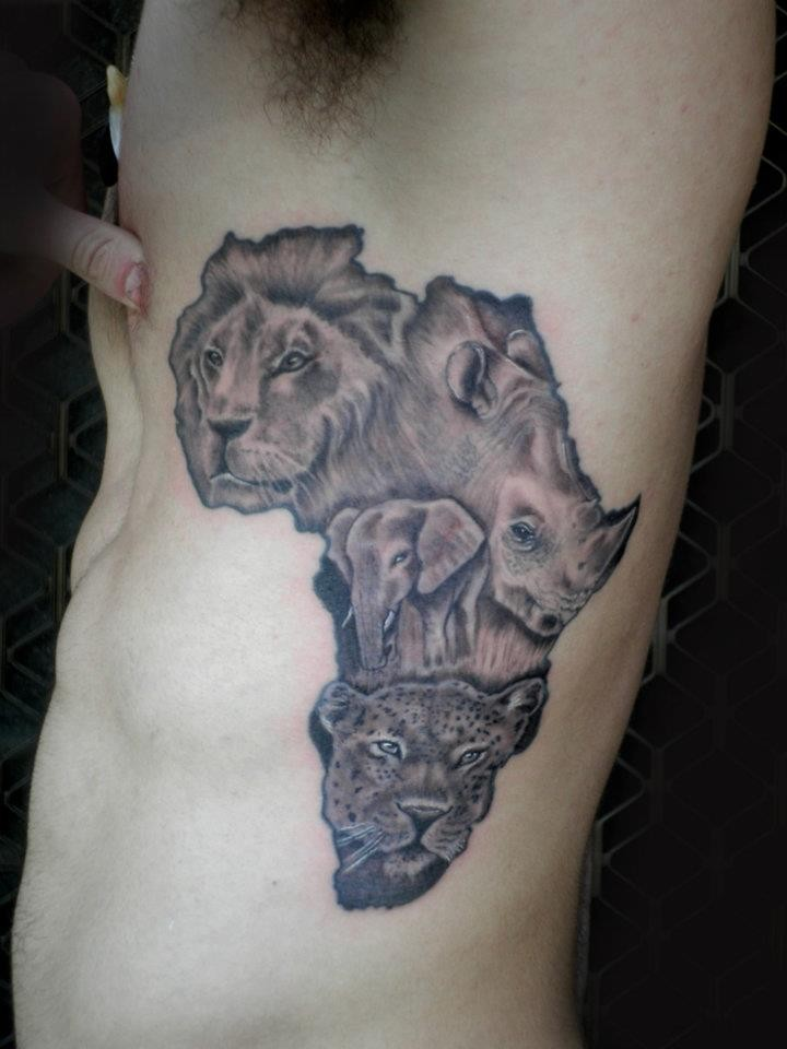 43 latest african continent map tattoos rh askideas com african continent tattoos african continent tattoo meaning