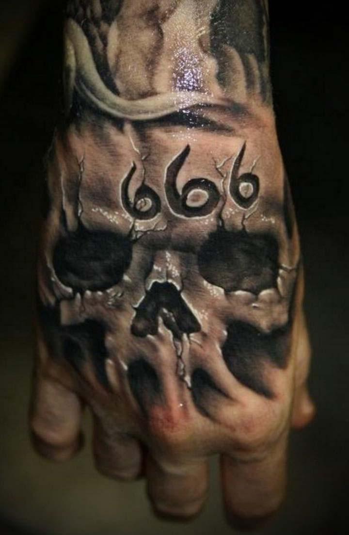 20 Skull Hands Tattoos For Men
