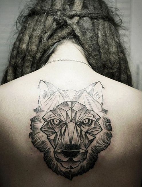 fca5397a7 76+ Meaningful Wolf Tattoo Designs & Ideas For Back