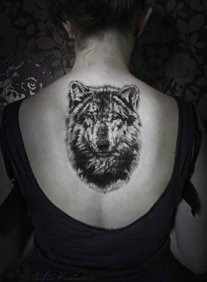 03b3adc32f0ba 76+ Meaningful Wolf Tattoo Designs & Ideas For Back