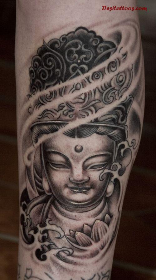 48 Most Amazing Gautama Buddha tattoos for arm