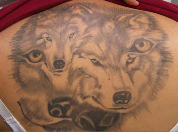 family of wolves tattoo