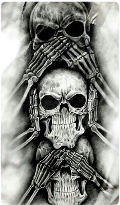 https://www.askideas.com/see-no-evil-hear-no-evil-speak-no-evil-skull-designs/