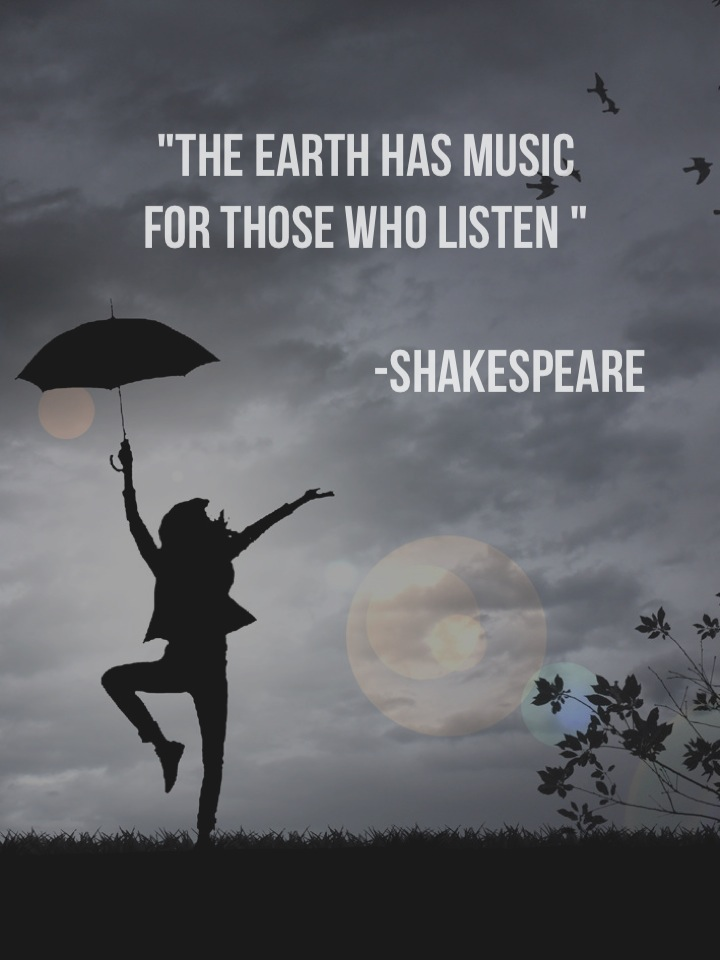 the earth has music for those who listen