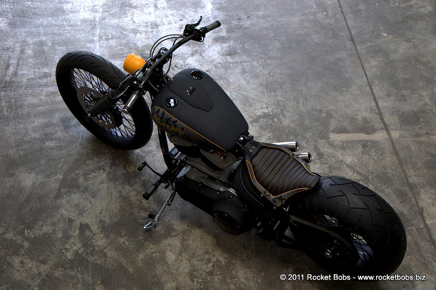Harley-Davidson – Rocker C – Customized By Rocket Bobs