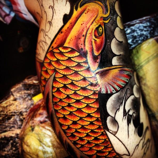 Tatuaje koi free pez koi tatuajes with tatuaje koi for Perfect koi