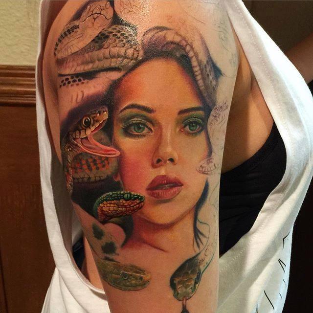 Tattoo On Leg By Rember Orellana Eye In Clock Forearm