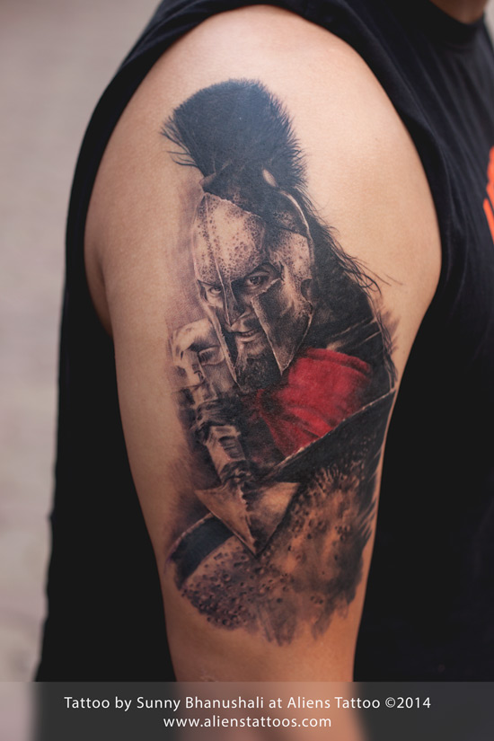 Leonidas Tattoos Designs