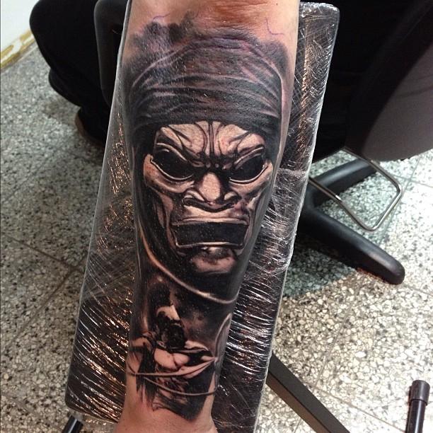 Movie 300 Tattoo On Arm