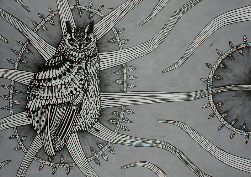 Owl Design By Skogsberg