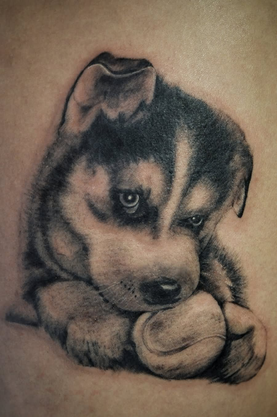 puppies tattoos 37 puppy paw tattoos and ideas 3294