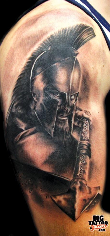 60+ Incredible Spartan Tattoos