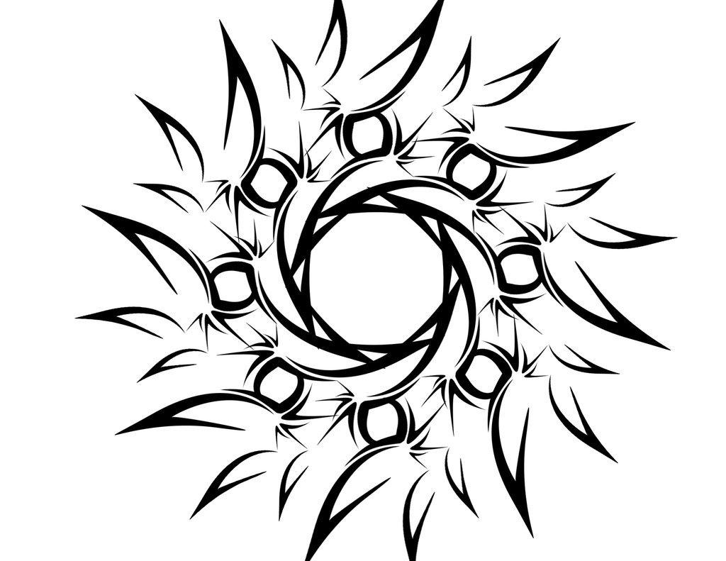 46 most amazing tribal sun tattoo designs patterns tribal sun tattoo by deadlygoalie83 biocorpaavc Images