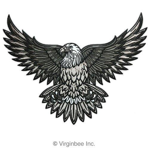 black eagle tattoo design by wolfsjal