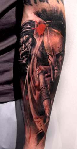 Unique 300 Movie Tattoo