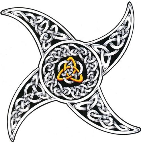 Celtic and celtic knot tattoo design ideas