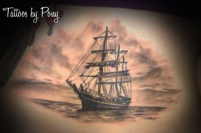 21 Beautiful Boat Tattoo Images, Designs And Pictures