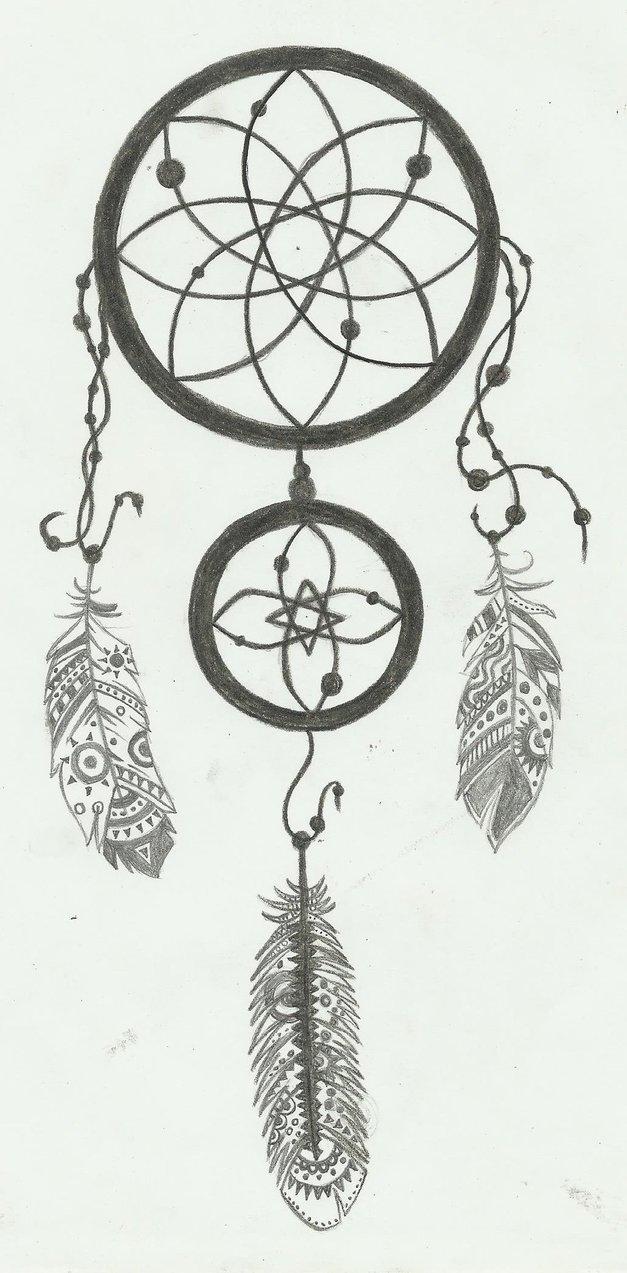 Dreamcatcher tattoo design by qorakmd pronofoot35fo Choice Image