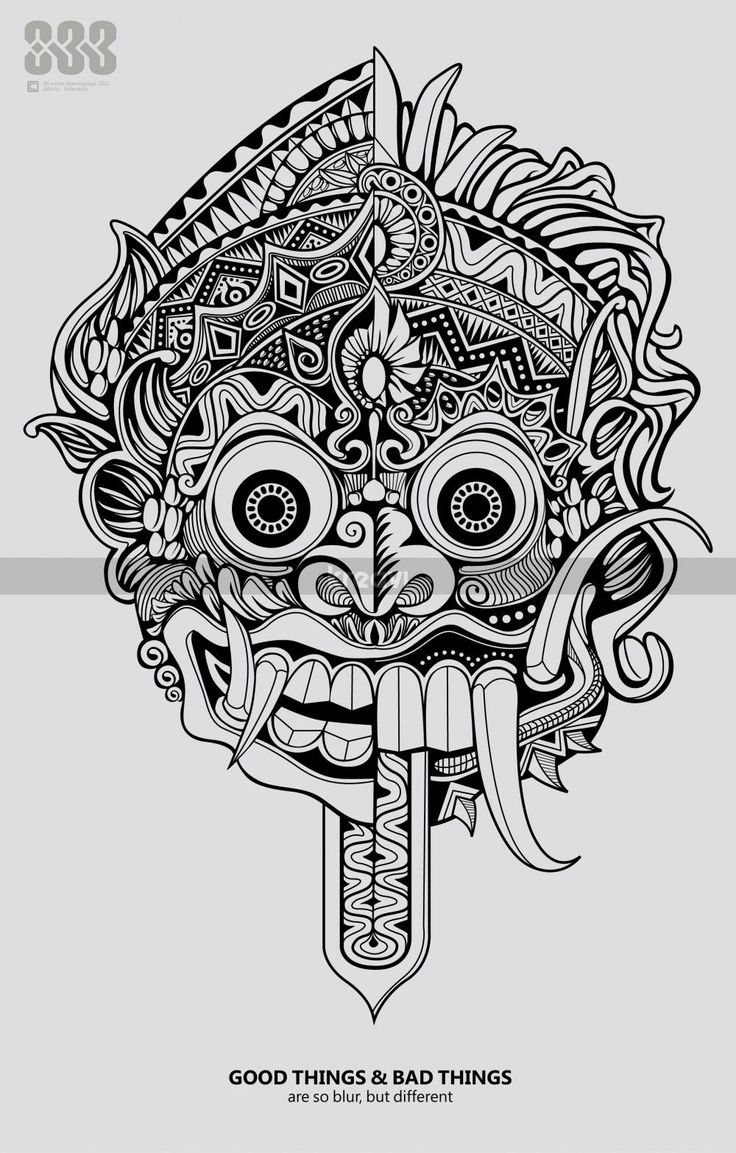 Gallery For gt Barong Tattoo