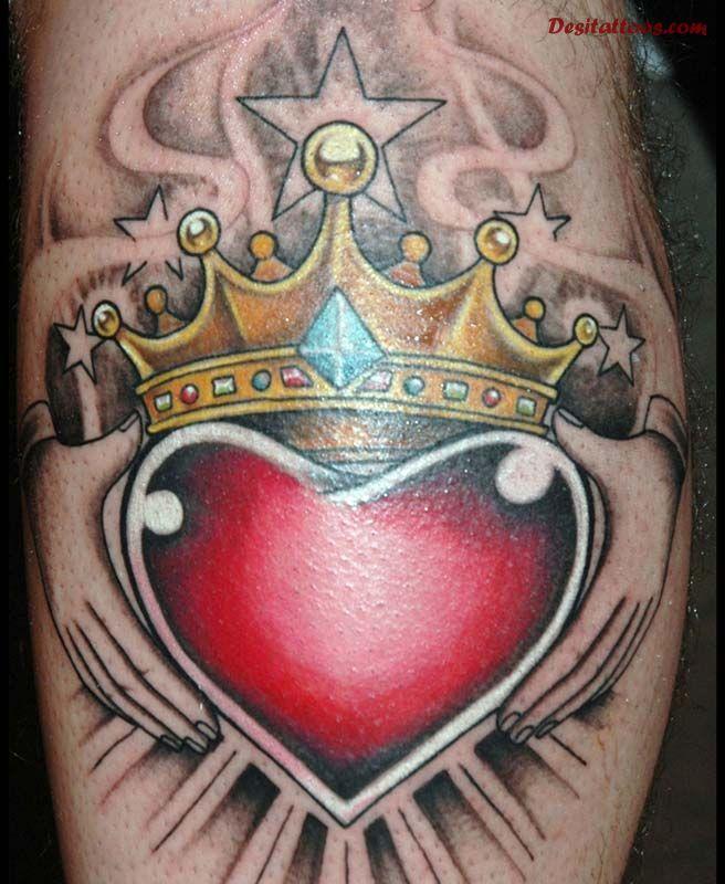 53+ Best Claddagh Tattoos Ideas