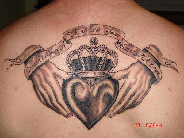 53 best claddagh tattoos ideas