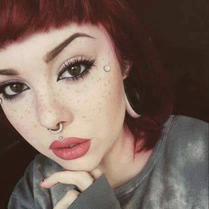 Medusa Piercing And Nose Piercing For Girls