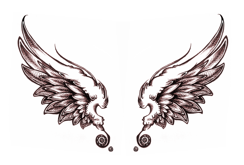 Supernatural Tattoo With Wings