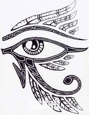 Pharaoh Tattoo Drawing