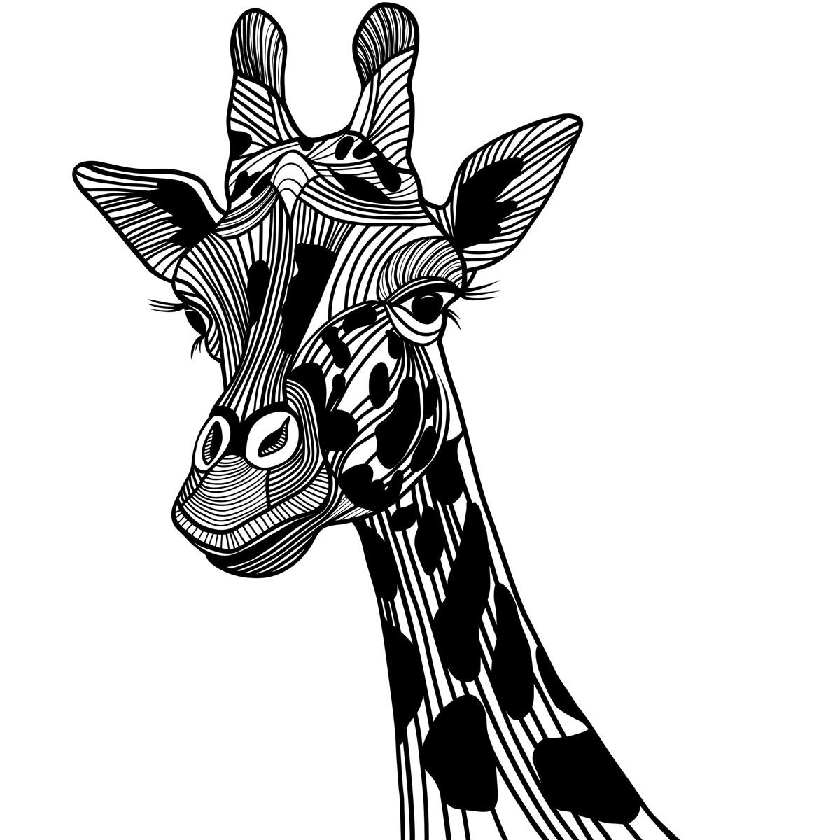 11 Most Famous Giraffe Tattoo Designs