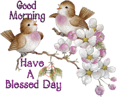 Good Morning Have A Blessed Day Birds Picture