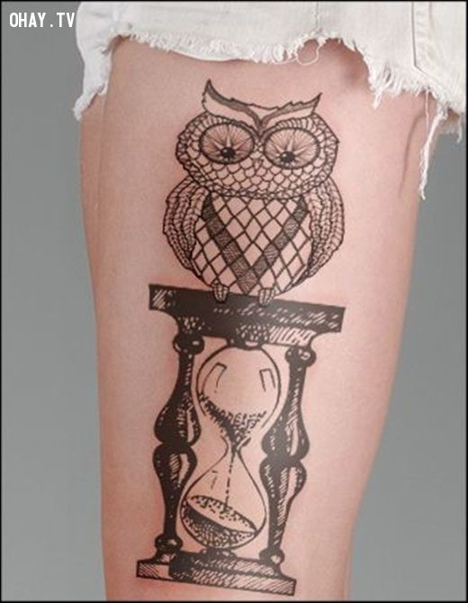 29 Latest Hourglass Tattoo Images Designs And Pictures