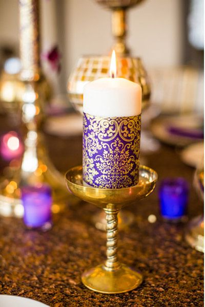 Beautiful Candle Decoration At Home For Diwali