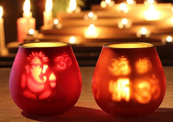 20 wonderful diwali home decoration ideas for Home decorations in diwali