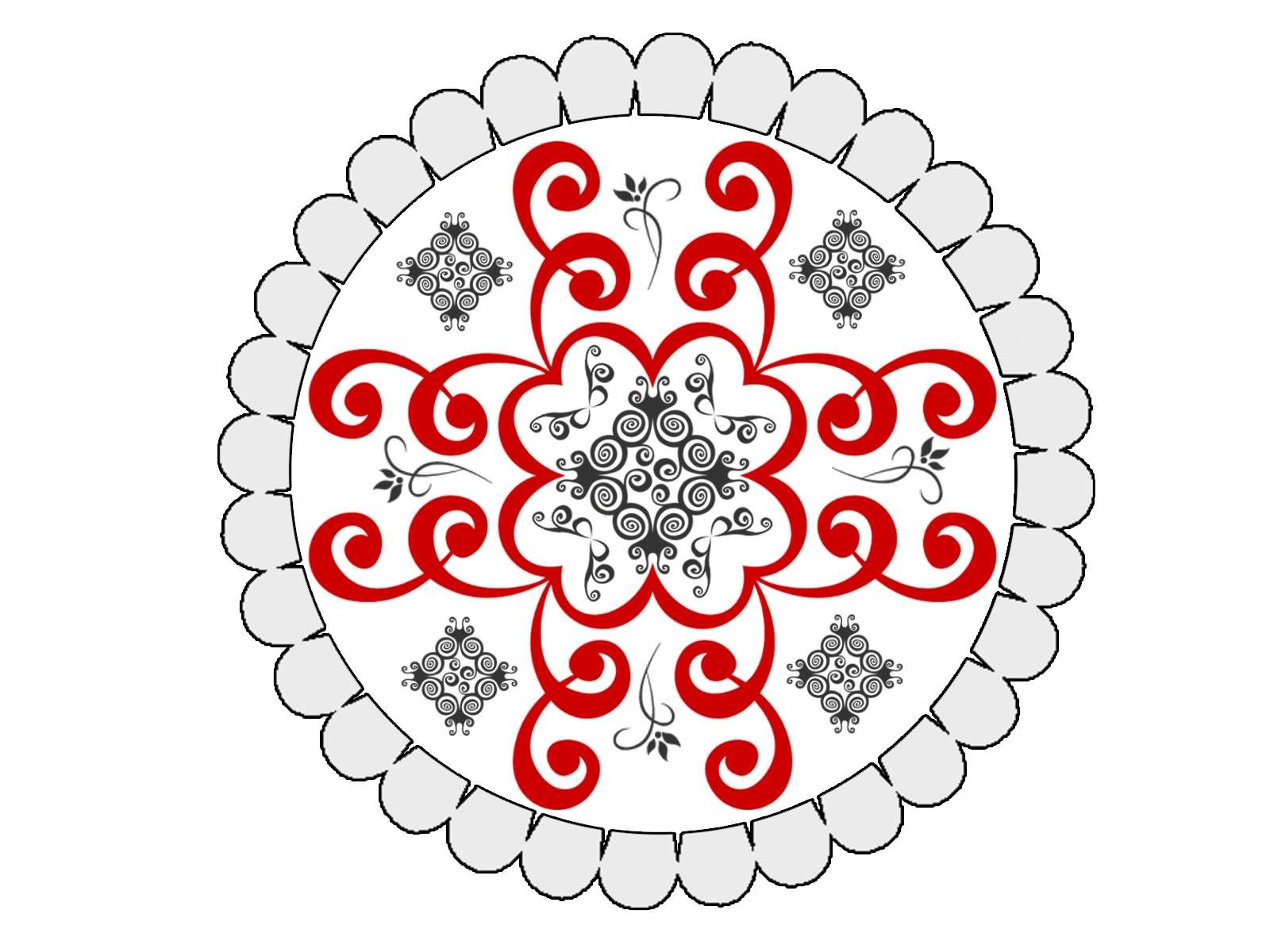 15 Awesome Diwali Rangoli Designs With Dots